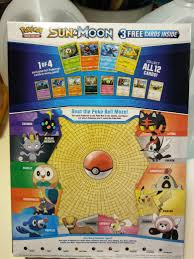 head u0027s up free 3 pack pokemon cards in select general mills