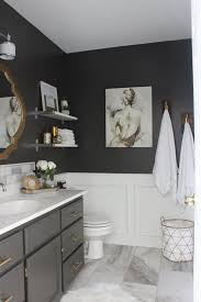 Bathroom Remodeling Ideas For Small Bathrooms Best 25 Black Bathrooms Ideas On Pinterest Black Powder Room
