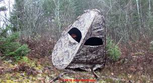 Ground Blinds For Deer Hunting Life In A Portable Deer Hunting Blind U2013 Dr Nordberg On Deer Hunting