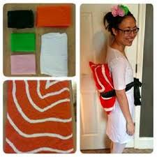 Halloween Sushi Costume Sushi Costume Tutorial Mayuk Costumes Sushi