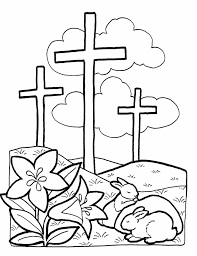 coloring jesus the cross coloring pages coloring pages getcoloringpagescom