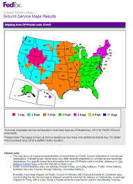Ups Ground Shipping Map Popular 194 List Fedex Shipping Map
