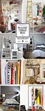 Creative Diy Bedroom Storage Ideas Best 20 No Closet Solutions Ideas On Pinterest No Closet