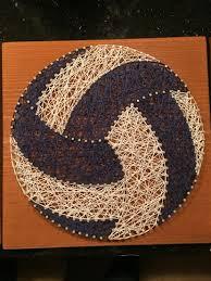 string art volleyball u2026 pinteres u2026