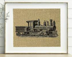 Train Decor Train Decor Etsy