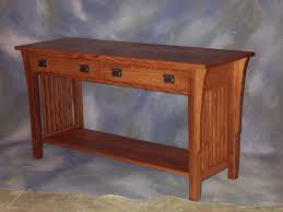 Oak Sofa Table by Sofas Center Ashley T719 Cross Island Brown Oak Stained Finish
