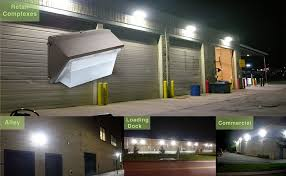 Led Outdoor Wall Pack Lighting Hykolity 90w Led Wall Pack Light Commercial Grade Weatherproof