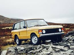 convertible land rover vintage land rover now restores 1970s range rovers wired