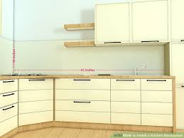 photos of kitchen backsplash how to install a kitchen backsplash with pictures wikihow