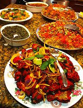 different types of cuisines in the list of cuisines