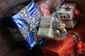 Beautifully Wrapped Gifts - scenes from the office