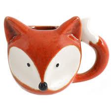 wild fox coffee mug homewares home sweet home holistic products