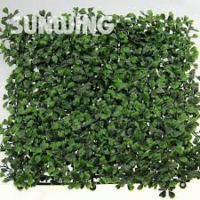 artificial fence 50x50cm uv proof wall artificial boxwood
