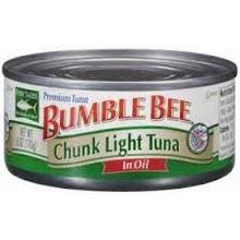bumble bee chunk light tuna 5oz chunk light tuna in oil cumbia foods