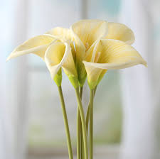 silk calla lilies artificial calla stems picks and stems floral