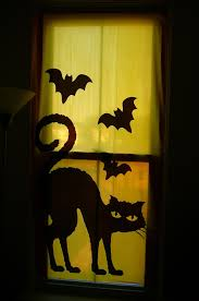 Window Halloween Silhouettes How To Dress Up Your Windows For Halloween Blindster Blog
