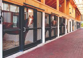 Stall Door Stall Front Systems Horse Stalls Barn Doors Stables Equine