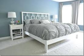 simple white bed frame bed design with storage 6 white metal bed