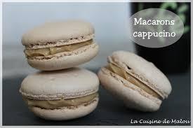 la cuisine de malou macaron au cappuccino le macaron au café de hermé en