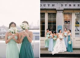 perfect mismatched bridesmaids chic vintage brides