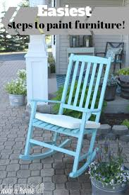 How To Paint Metal Patio Furniture - the easiest way to paint outdoor furniture how to use a paint