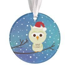owl ornaments keepsake ornaments zazzle