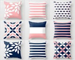 Home Decor Throw Pillows Best 25 Navy Pillows Ideas On Pinterest White Cushions Navy