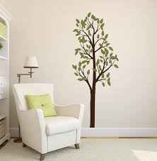 tree vinyl wall decal leafy tree graphic item 30027