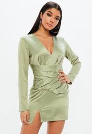 green dress green dresses emerald mint green dresses missguided