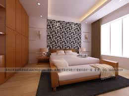 Student Bedroom Paisley Feature Wall Interior Design Ideas - Feature wall bedroom ideas