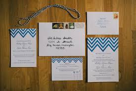 chevron stripe wedding invitation for the love of press