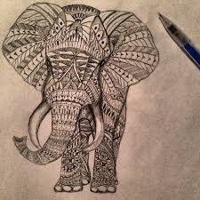 elephant tribal pictures design ideas tattooed images