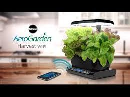 smart countertop the smart countertop garden harvest wi fi youtube