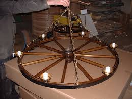 wagon wheel light fixture wagon wheel chandeliers amish country products and more