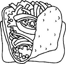 coloring pages of food delicious food coloring pages bulk color