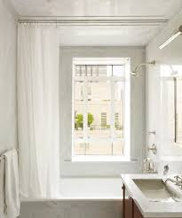 Curtains For Ceiling Tracks Shower Track Rods Intended For Ceiling Curtain Ideas 17