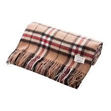 Brown Tartan Rug Heritage Of Scotland Home U0026 Gifts
