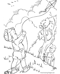 spring coloring pages sheets pictures 09
