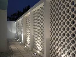 Cinder Block Garage Plans by 234 Best Block Wall Fence Images On Pinterest Architecture
