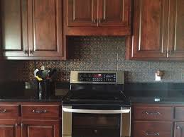 kitchen tin backsplash tin ceiling tile installed traditional kitchen ta by