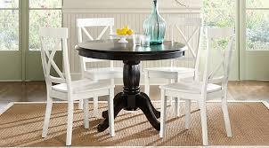Black White Dining Chairs Brynwood Black 5 Pc Dining Set Dining Room Sets Colors