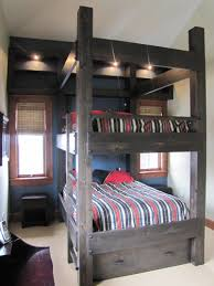 Queen Bunk Beds Queen Size Beds Nice Queen Over Queen Bunk Bed - Queen sized bunk bed