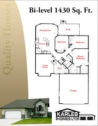 bi level home plans karleb homes ltd homes in drayton valley