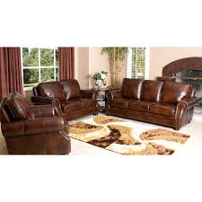 Leather Sofa In Living Room by Abbyson Lexington Dark Burgundy Italian Leather Reclining Loveseat