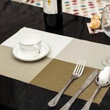 napperon de cuisine table à manger napperon cuisine outil pvc vaisselle pad coaster café