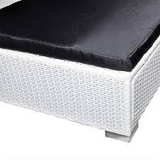 Gartenmobel Rattan Weis Der Gartenmöbel Poly Rattan Set Lounge Weiß 24 Teilig Online Shop