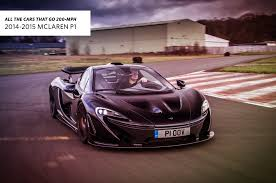 fastest mclaren all the cars that go 200 mph