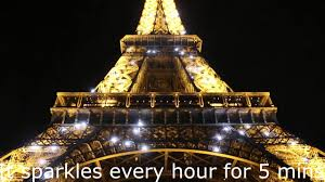 Beautiful Eiffel Tower by Beautiful Eiffel Tower Sparkles At Night Paris Travel Youtube