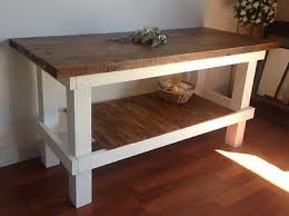 kitchen island work table large industrial work table bench bar kitchen island rustic