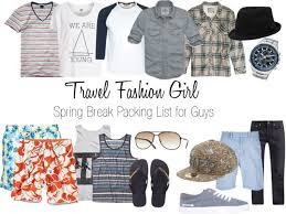 College Toiletries Checklist Spring Break Packing List For Guys The College Tourist